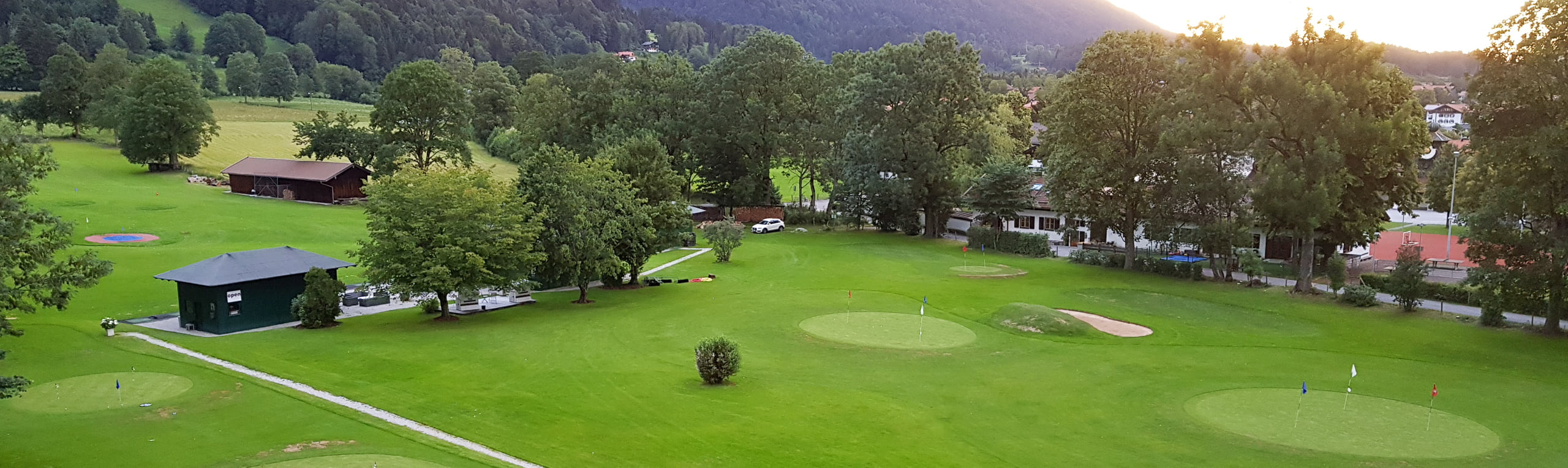 Wiesseegolf Trainingsgelände